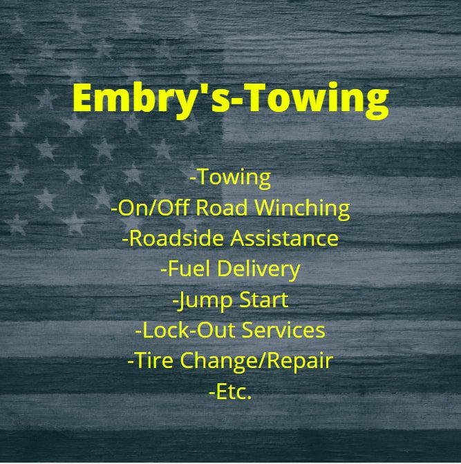 Towing, Roadside Assistance & Lock-Out Services of Morganfield, KY