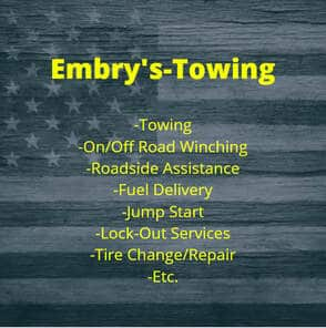 Embry's Towing Logo